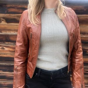 Hugo Buscati Collection Leather Jacket